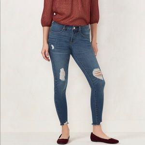 LC Lauren Conrad Super Skinny Midrise Jeans NWT